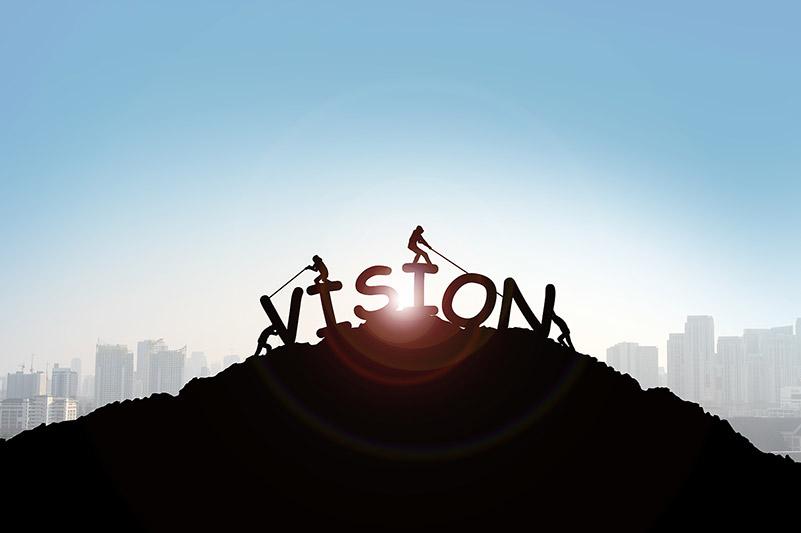Im Rahmen von Change-Prozessen eine Vision, Strategie und das Ziel Ihres Unternehmens definieren. Durch vereinte Kräfte eine Vision schaffen, in der jeder mit anpackt, so hoch der Gipfel des Berges auch sein möge.
