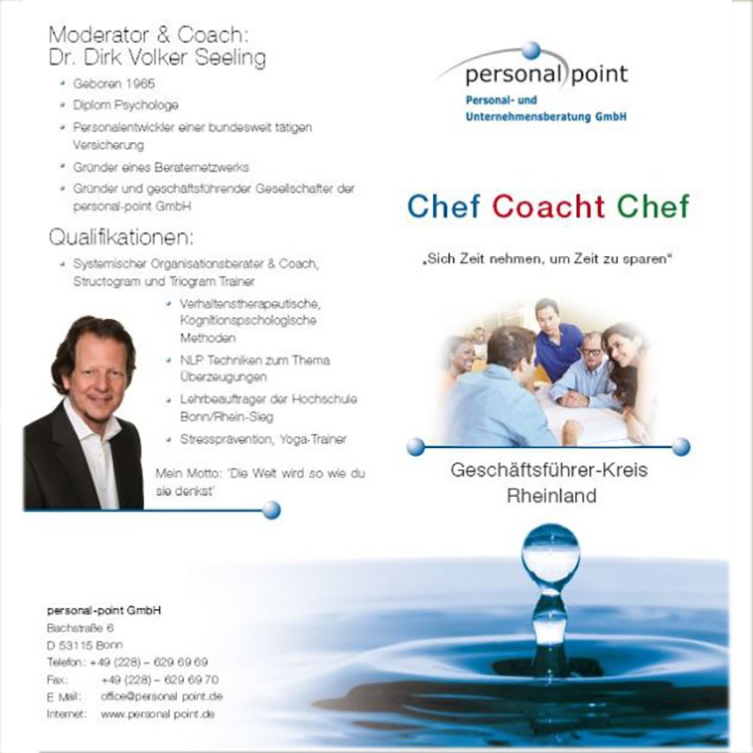 Chef-coacht-Chef Flyer Teil 1